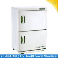 Quality 2 layer UV tool sterilizer , Towel Warmer Sterilizer For Beauty Salon YL-46A for sale