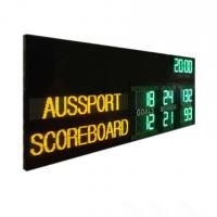 China Australia AFL Electronic Scoreboard With Led Name 1200MM X 3000MM X 100MM wholesale