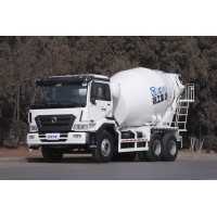 China 6m3 Concrete Mixer Transport Truck With 9.726L Displacement Engine wholesale