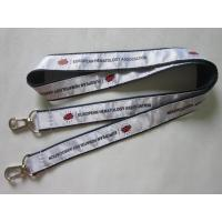 China High Quality Personalized Satin Ribbon Overlaid Double Ends Lanyard Direct Factory wholesale