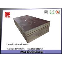 Buy cheap Hylam Sheets / Fabric Sheets / Phenolic Cotton Cloth Sheet,1040x2080mm from wholesalers