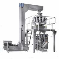 China Automatic Packaging beans Crisps low cost pouch packing machine,Automatic Sugar multihead weigher packing machine wholesale