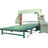 China 0-25m / Min PU Foam Cutting Machine , Horizontal Sponge Cutting Machine With Vacuum wholesale