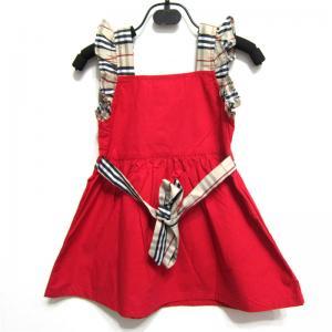 China New arrival hot sale summer 2014 B-urberry designer kid sleeveless short lace dress s-xxL wholesale