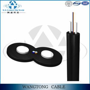 China FTTH fiber drop cable 1 core/2 cores/4 cores on sale