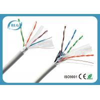 China 100% Copper Conductor FTP Cat6 Lan Cable 4 Pairs Low Resistance Data Transmission Cabling wholesale