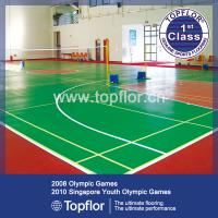 China 6.0mm Indoor PVC Sports Court Flooring wholesale