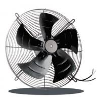China 1850 Brushless EC Axial Fan Metal External Rotor Motor 230V PWM 450 Stable wholesale