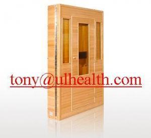 China folding far infrared sauna room ,  portable fir sauna on sale
