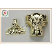 China Gold Silver Copper PP Or ABS Plastic Casket Corner 1# Leaf Funeral Decoration wholesale