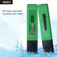 China Water Quality Analysis Digital Ph Meter Device / Hydroponic Ph Tester For Aquarium Pool Water wholesale