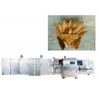 Buy cheap Full Automatic Ice Cream Production Line For Making Waffle Cup / Bowl , CE Approved from wholesalers