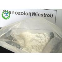 Buy cheap Winstrol Stanozolol Oral Anabolic Steroids Raw White Crystalline Powder CAS 10418-03-8 from wholesalers