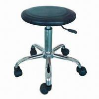 China ESD/PU Foaming Chair with Conductive Castor/Cup/Chain, Used in Cleaning Rooms and Factories wholesale