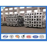 China 500mm Base Plate 7M 8M 9M 10M Octagonal Glavanized Electric Steel Pole wholesale