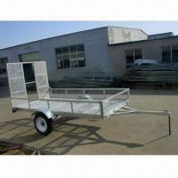 China ATV Trailer with 750kg Load Capacity and Hot-dipped Galvanized Finish, Measures 2,800 x 1,550mm wholesale