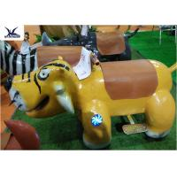China Cartoon Ride On Motorized Stuffed Animals For Amusement Park / Game Center wholesale