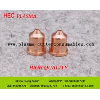 China Plasma Cutting Nozzle  220819 Plasma Consumables For Hypertherm PowerMax65 Plasma System wholesale