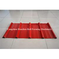 Quality Colored Steel trapezoid Roll Forming Machine For Roofing Sheet , low noise for sale