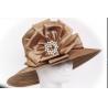 Quality Elegant Sunday Ladies' Church Hats , Satin Braid Church Hats For Women for sale