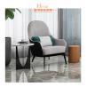 China Medium Back Luxury Royal Salon Modern Lobby Furniture / Comfortable Lounge Chairs wholesale