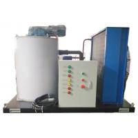 Buy cheap 1000kg/24h Sliced Ice Machine Salt Water / Sea Water With Marine Oil Tank from wholesalers