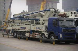 China 1800r/Min 52m Concrete Pump Truck Road Construction Machinery wholesale