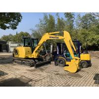 China Front blade available Used KOMATSU PC56-7 Excavator For Sale/KOMATSU PC56 Excavator wholesale