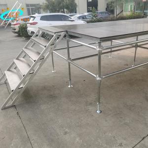 China Platform 6061-T6 Aluminum Truss Stage Movable Scaffolding wholesale