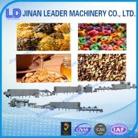 China Best Hot selling Corn Flakes Breakfast Cereals Machine wholesale