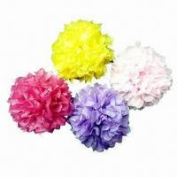 Quality Party Decoration with Tissue Paper Flower Design for sale