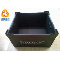 Buy cheap Reusable Lightweight Plastic Antistatic ESD Turnover Boxes For Electronic from wholesalers