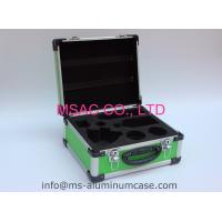 Quality Blue Aluminum Case With Die Cut EVA Inside For Medical Accessories for sale