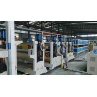 Quality Two roller ACP Production Line 95mm 75mmTwin Screw Diameter For Aluminum Plate wholesale