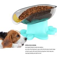 China Tilted Angle Bulldog Bowl Super Design Mess Free 15° Slanted Bowl for Dogs and Cats, Pet Feeder, Non-Skid & Non-Spill wholesale