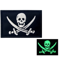 China Iron On Embroidery Motorcycle Biker Patch With Overlock Edge wholesale