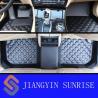 Quality Custom Car Carpet Floor Mats / Decorative Black Rubber Car Mats With ROHS for sale
