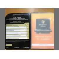 China All In One Windows 7 Ultimate Retail Box English Language For Operating System wholesale