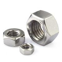 China Industrial Grade Heavy Hex Nut Furniture Hardware Plain Surface Zn Plating wholesale