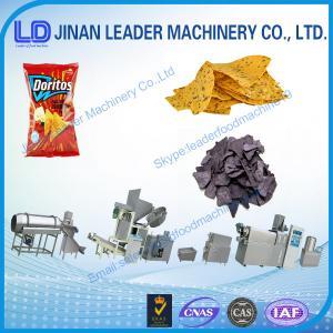 China Doritos Tortilla Corn Chips Machine wholesale