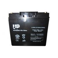 China Rechargeable 12v 18ah sla battery , sealed maintenance free lead acid battery on sale