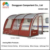 Quality Motorhome Caravan Porch Awnings large family tent with Fiberglass Pole for sale