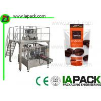 Buy cheap Coffee beans Stand-Up Zip Bag Packing machine Rotary Packing Machine With Multi from wholesalers