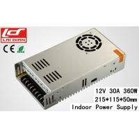 Quality Intelligent Cooling 12 Volt 10 Amp Power SupplyConstant Voltage Stable 360W wholesale