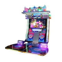 China Amusement Arcade Games Machines 300W Adult Dance And Music Machine on sale