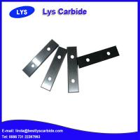 China Tungsten carbide knife blade manufactured by Lys carbide wholesale