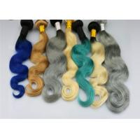 China 1b / 613 Ombre Color Remy Human Hair Extensions Body Wave Free Sample wholesale