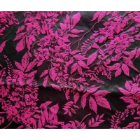 Buy cheap Upholstery Fabric Jacquard Yarn-dyed Leaves H/R 25.0cm 340T/100% P/150gsm from wholesalers