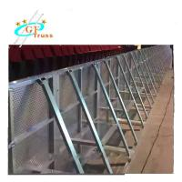 China Aluminum  gate traffic police Crowd Control Stage road Barrier for ConcertBest Sale concrete wholesale
