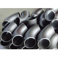 China A420 WPL6 Alloy Steel Pipe Fittings 90 Degree Elbow 40S Wall Thickness Cracking Resistance wholesale
